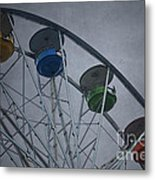 Ferris Wheel Metal Print by Dave Gordon