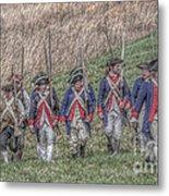 Field Of Honor American Revolution Metal Print by Randy Steele