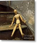 Figurine Metal Print by Bernard Jaubert