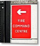 Fire Command Centre Metal Print by Tom Gowanlock
