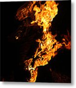 Fire Metal Print by Pedro Correa