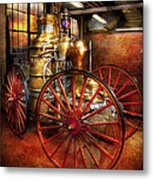 Fireman - One Day A Long Time Ago  Metal Print by Mike Savad