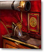 Firemen - An Elegant Job  Metal Print by Mike Savad
