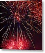 Firework Majesty  Metal Print by Garry Gay