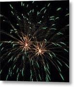 Fireworks 29 Metal Print by Staci Bigelow