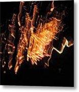 Fireworks 3 Metal Print by Stephanie Kendall