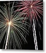 Fireworks 5 Metal Print by Andrew Nourse