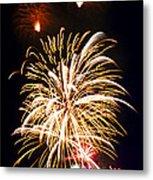 Fireworks Metal Print by Elena Elisseeva