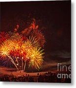 Fireworks Finale Metal Print by Robert Bales