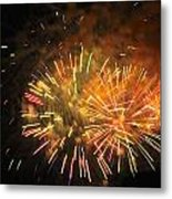 Fireworks IIi Metal Print by Tiffany Erdman