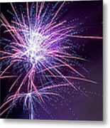 Fireworks - Purple Haze Metal Print by Scott Lyons