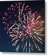 Fireworks Series Xiii Metal Print by Suzanne Gaff