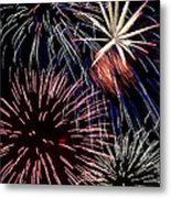 Fireworks Spectacular Metal Print by Jim and Emily Bush