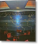 First Class Smoking Room Metal Print by John Harding Photography