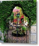 First Gate Metal Print by Phil King