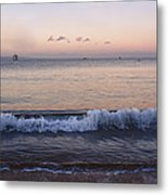 First Light On Ma'alaea Bay Metal Print by Trever Miller