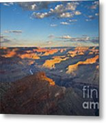 First Light On The Colorado Metal Print by Mike  Dawson