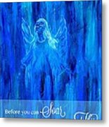 First Love Yourself Metal Print by The Art With A Heart By Charlotte Phillips