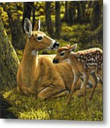 First Spring - Variation Metal Print by Crista Forest
