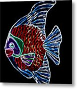 Fish Tales Metal Print by Shane Bechler