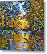 Fisherman's Dream Metal Print by Kenneth Young