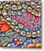 Fishing Bouys Metal Print by Heidi Smith