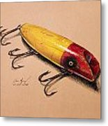 Fishing Lure Metal Print by Aaron Spong