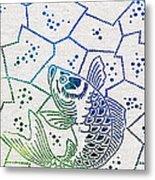 Fishing Net Metal Print by Aged Pixel