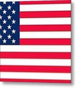 Flag Of The United States Of America Metal Print by Anonymous