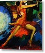 Flamenco Dancer 029 Metal Print by Catf