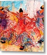Flamenco Metal Print by John YATO