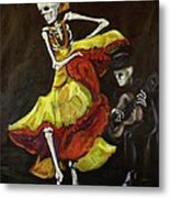 Flamenco Vi Metal Print by Sharon Sieben