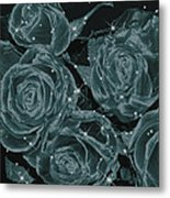 Floral Constellations Metal Print by Wendy J St Christopher