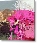 Floral Fiesta - S33ct01 Metal Print by Variance Collections