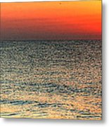 Florida Point Sunrise Metal Print by Michael Thomas