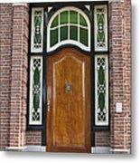 Florishaven Doorway Metal Print by Phyllis Taylor