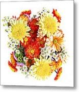 Flower Bouquet Metal Print by Elena Elisseeva