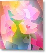 Flower Deco IIi Metal Print by Lutz Baar