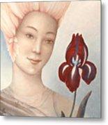 Flower Fairy Metal Print by Judith Grzimek