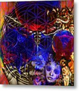 Flower Of Creation  Metal Print by Joseph Mosley