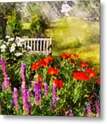 Flower - Poppy - Piece Of Heaven Metal Print by Mike Savad