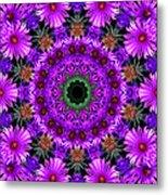 Flower Power Metal Print by Kristie  Bonnewell