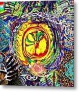 Flowering Shiva Metal Print by Jason Saunders