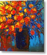 Flowers Are Always Welcome IIi Metal Print by Patricia Awapara
