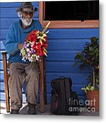 Flowers To Make A Living Metal Print by Heiko Koehrer-Wagner
