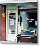 Floyd's Barber Shop Nc Metal Print by Bob Pardue
