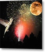 Fly Me To The Moon Metal Print by Lynn Bauer