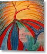 Flying Tree Metal Print by Melody Cook