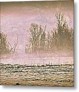 Fog Abstract 2 Metal Print by Marty Koch