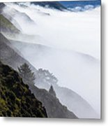 Foggy Hillside Metal Print by Garry Gay